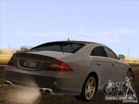 Mercedes-Benz CLS63 AMG para GTA San Andreas vista direita