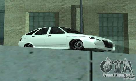 VAZ-2112 carro Tuning para GTA San Andreas esquerda vista