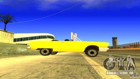 Crazy Taxi - B.D.Joe para GTA San Andreas esquerda vista