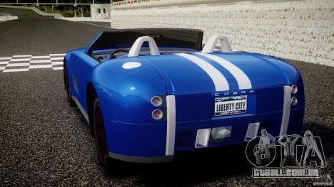Ford Shelby Cobra Concept para GTA 4 traseira esquerda vista