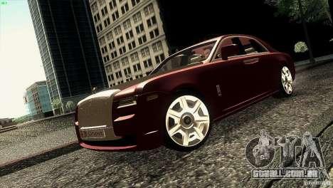 Rolls-Royce Ghost 2010 V1.0 para GTA San Andreas