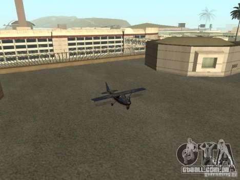 Um novo avião-Dodo para GTA San Andreas vista interior