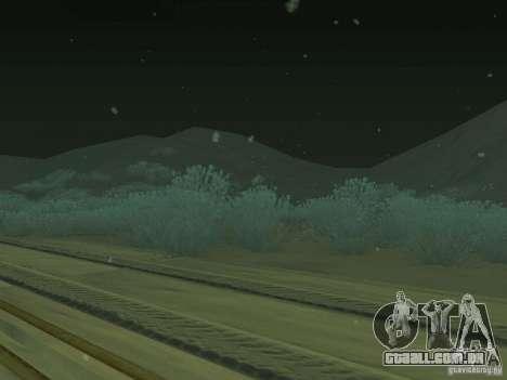 Neve v 2.0 para GTA San Andreas terceira tela