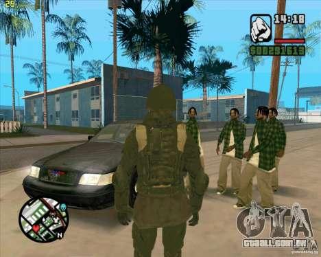 Pele SAS para GTA San Andreas segunda tela