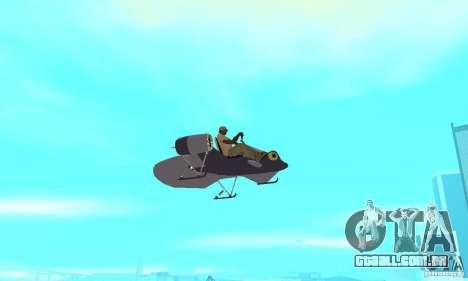 Flying Fish para GTA San Andreas vista traseira