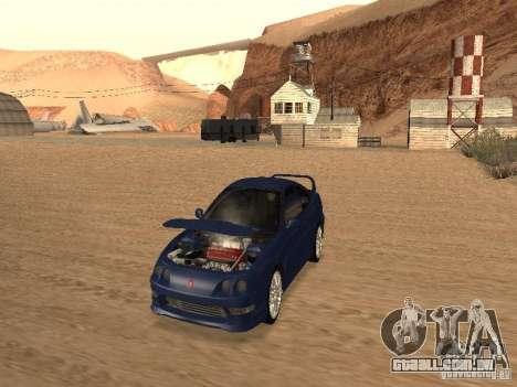 Acura RSX Light Tuning para GTA San Andreas esquerda vista