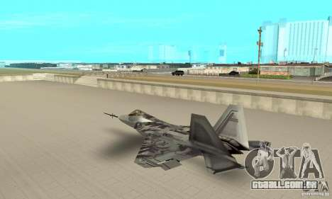 YF-22 Starscream para GTA San Andreas