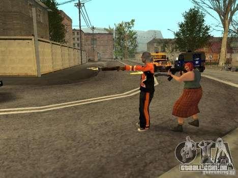 Qualquer grupo do player 3.0 para GTA San Andreas terceira tela