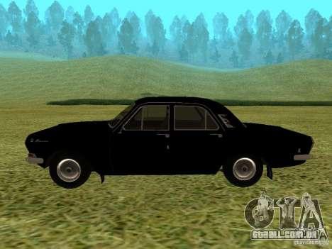 Volga GAZ-24-01 para GTA San Andreas vista direita