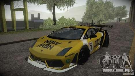 Lamborghini Gallardo LP560-4 GT3 para GTA San Andreas