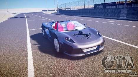 Ferrari F430 Extreme Tuning para GTA 4 vista interior