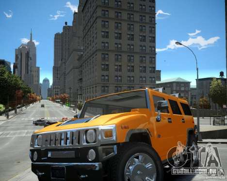 Hummer H2 2010 Limited Edition para GTA 4 esquerda vista