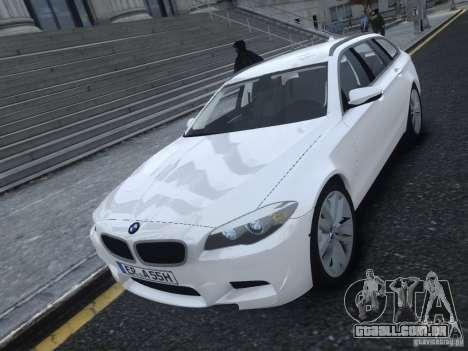 BMW M5 F11 Touring V.2.0 para GTA 4 esquerda vista