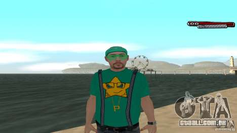 Skin Pack The Rifa Gang HD para GTA San Andreas
