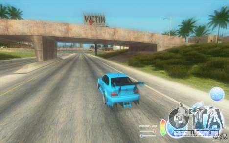Velocímetro louuuuca v. diesel 2.2 + limitada para GTA San Andreas segunda tela