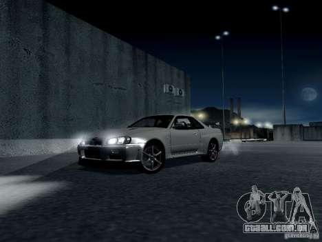 ENBSeries by Shake para GTA San Andreas nono tela