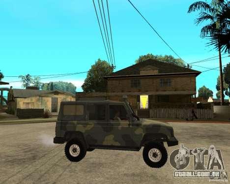 UAZ-3172 para GTA San Andreas vista direita