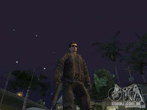 Terminator para GTA San Andreas terceira tela