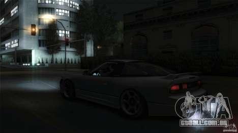 Nissan 240SX S13 Drift Alliance para GTA San Andreas vista direita
