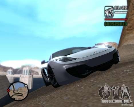 Enb series by LeRxaR para GTA San Andreas segunda tela