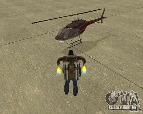 Transporte aéreo de Pak para GTA San Andreas interior