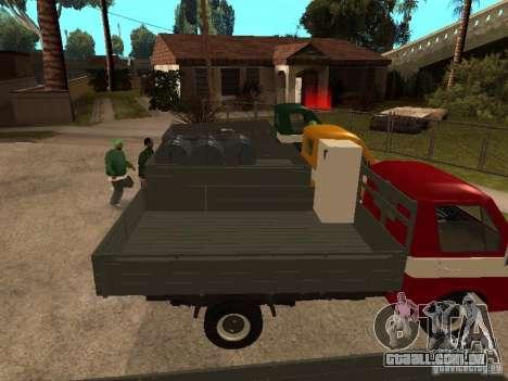 RAPH 33111 para GTA San Andreas vista traseira