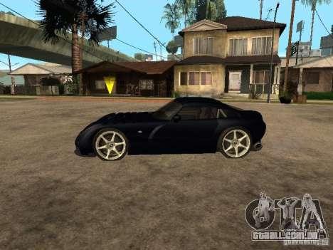 TVR Sagaris para GTA San Andreas