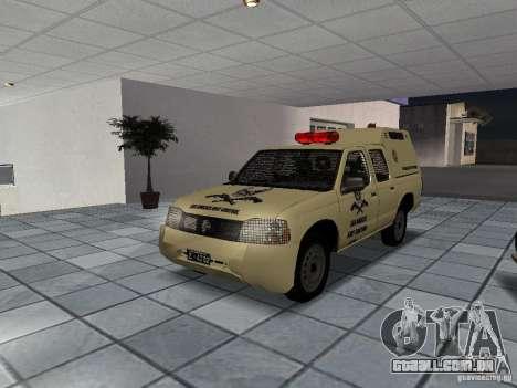 Nissan Terrano LARC para GTA San Andreas