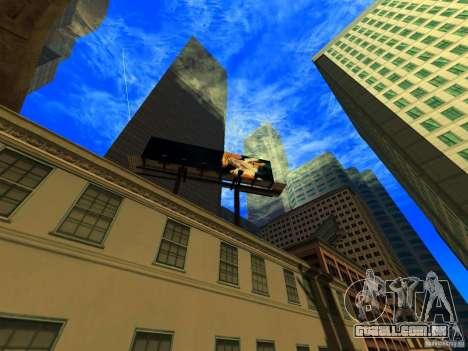 Ângulo da câmera melhorada V2 para GTA San Andreas segunda tela