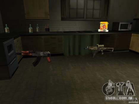 Armas nacional-versão 1.5 para GTA San Andreas terceira tela