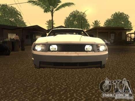 Ford Mustang 2011 GT para GTA San Andreas vista superior