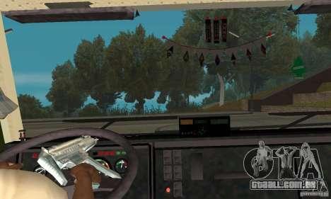 KAMAZ 5460 pele 5 para GTA San Andreas vista traseira