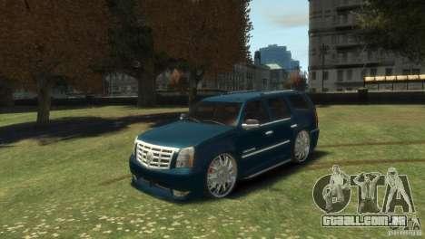 Cadillac Escalade Dub para GTA 4