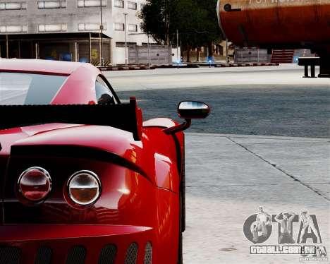 Ascari A10 2007 v2.0 para GTA 4 vista de volta