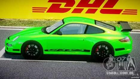 Porsche 997 GT3 RS para GTA 4 traseira esquerda vista