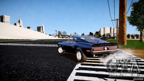 Ford Shelby GT500 KR 1968 para GTA 4 vista direita