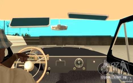 Black Lightning para GTA San Andreas quinto tela