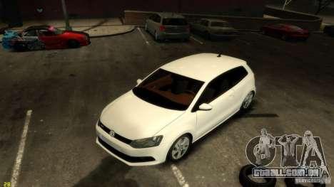 Volkswagen Polo v1.0 para GTA 4 vista de volta