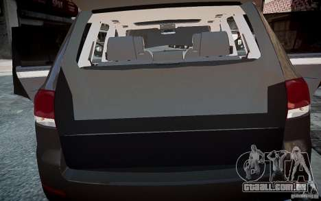 Volkswagen Touareg R50 para GTA 4 vista lateral