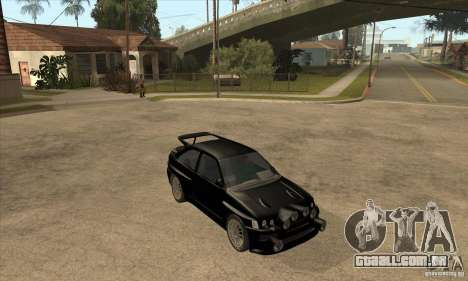 Ford Escort RS Cosworth para as rodas de GTA San Andreas