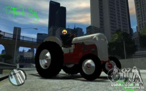 Ford 8N para GTA 4 esquerda vista