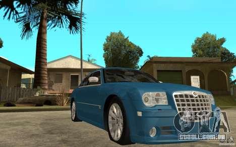 Chrysler 300C 6.1 SRT-8 2007 para GTA San Andreas vista traseira