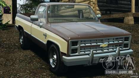 Chevrolet Silverado 1986 para GTA 4