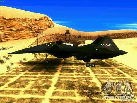 ADF-01 Falken para GTA San Andreas esquerda vista