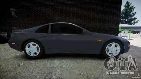 Nissan 300 ZX para GTA 4 vista interior