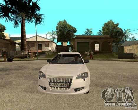 GAZ Volga Siber AT 2,5 para GTA San Andreas vista traseira