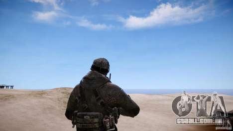 Capitão preço do COD MW3 para GTA 4 terceira tela