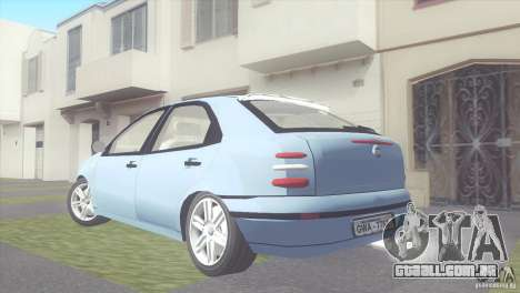 Fiat Brava HGT para GTA San Andreas esquerda vista