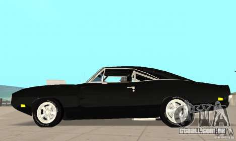 Dodge Charger RT 1970 The Fast & The Furious para GTA San Andreas esquerda vista