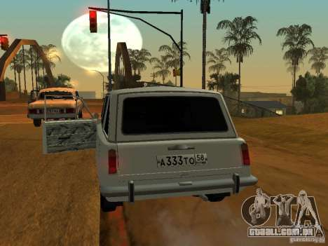 VAZ 2102 para GTA San Andreas vista direita